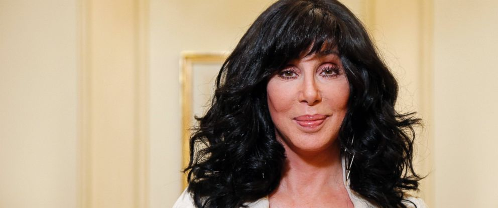 PHOTO: US singer and actress Cher poses in this Oct. 10, 2013, file photo.