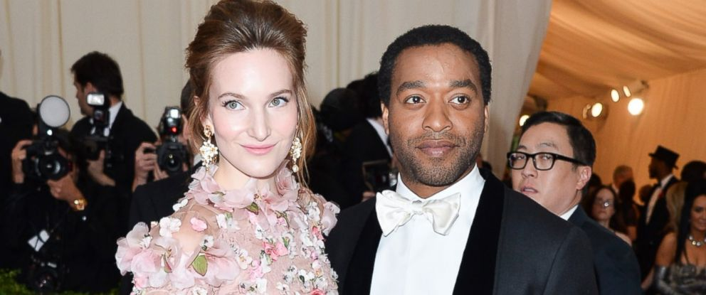 "PHOTO: Sari Mercer and Chiwetel Ejiofor attends the ""Charles James: Beyond Fashion"" Costume Institute Gala at the Metropolitan Museum of Art, May 5, 2014, in New York City."