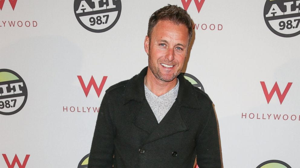 PHOTO: TV personality Chris Harrison arrives at the ALTimate Rooftop Christmas Party W/ Hollywood in this Dec. 9, 2013, file photo.