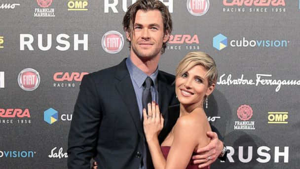GTY chris hemsworth elsa pataki jef 131120 16x9 608 Chris Hemsworth and Wife Expecting Second Child