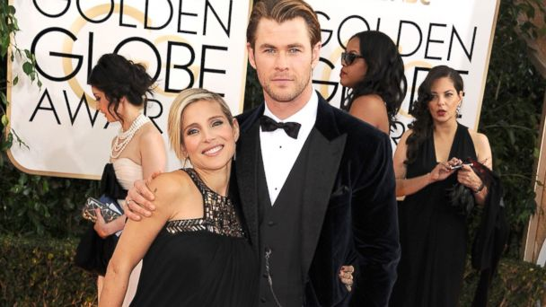 GTY chris hemsworth elsa pataky ml 140115 16x9 608 Thor Star Chris Hemsworth and Wife Elsa Pataky Expecting Twins