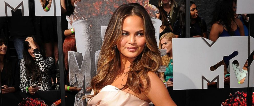 PHOTO: Chrissy Teigen attends the 2014 MTV Movie Awards on April 13, 2014 in Los Angeles.