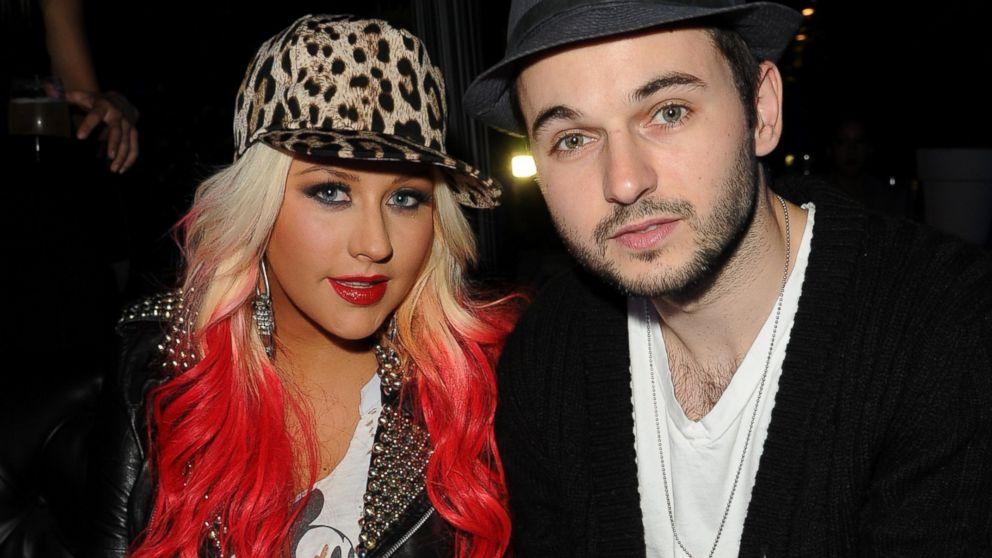 PHOTO: Christina Aguilera and Matt Rutler