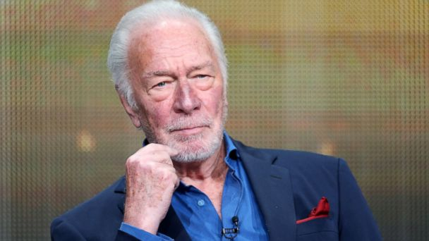 "PHOTO: Christopher Plummer speaks at the ""Muhammad Alis Greatest Fight"" panel discussion during the 2013 Summer Television Critics Association tour, July 25, 2013, in Beverly Hills, Calif."