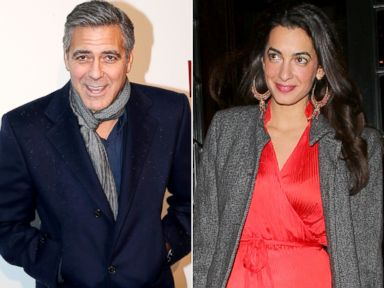 See Amal Alamuddin's Stunning Engagement Ring From George Clooney