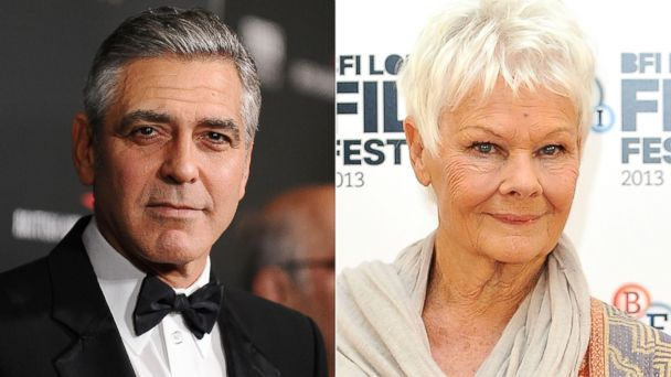 GTY clooney dench kab 140207 16x9 608 What George Clooney Said About Dating Judi Dench