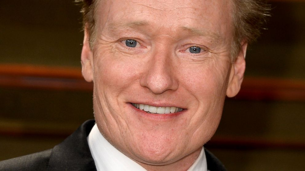 PHOTO: Conan OBrien attends the 2014 Vanity Fair Oscar Party hosted by Graydon Carter, March 2, 2014, in West Hollywood, Calif.