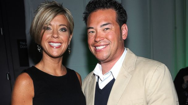 PHOTO: Kate Gosselin and Jon Gosselin attend the Discovery Upfront at Jazz at Lincoln Center