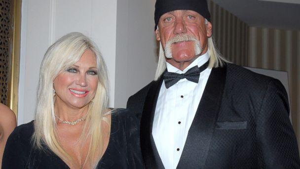 PHOTO: Linda Hogan and Hulk Hogan in New York, June 7, 2007.