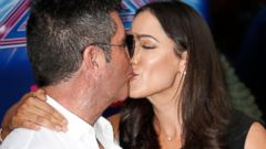 Simon Cowell Smooches Girlfriend Lauren Silverman