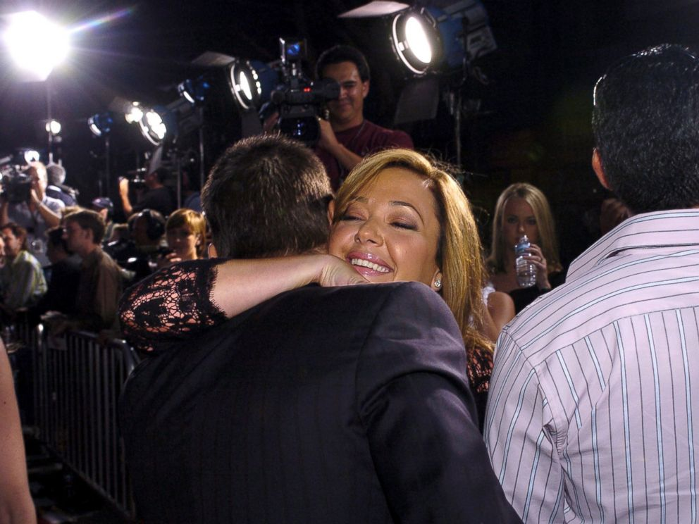 PHOTO: Tom Cruise and Leah Remini during Collateral Los Angeles Premiere.