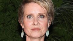 PHOTO: Cynthia Nixon attends 2014 High Line spring benefit at Skylight at Moynihan Station, May 20, 2014, in New York.