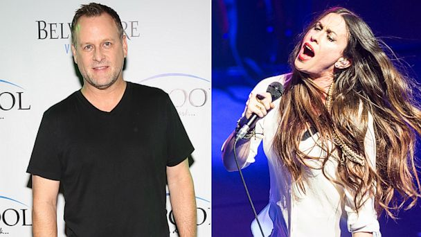 GTY dave coulier alanis morissette jef 130924 16x9 608 How Dave Coulier Knew Alanis Morissettes You Oughta Know  Was About Him