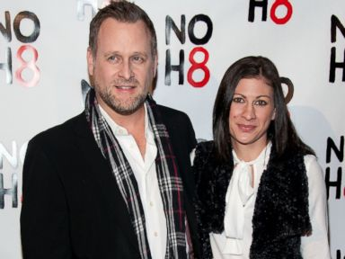 PHOTO: Dave Coulier and Melissa Bring