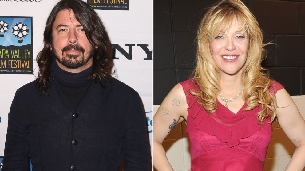 PHOTO: From left, Dave Grohl in Napa, Calif., Nov. 15, 2013, and Courtney Love in New York, April 10, 2014.