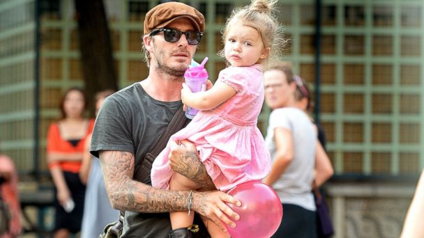 GTY david harper beckham daughter sk 131129 16x9 608 David Beckham on His New Full Time Job: Im Dad