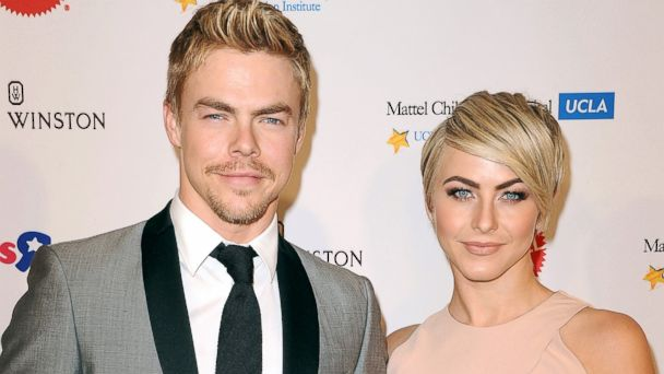 GTY derek julianne hough jef 140618 16x9 608 Derek and Julianne Hough on How Their Tough Childhoods Shaped Them