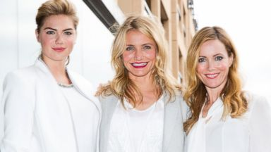 Kate Upton, Cameron Diaz and Leslie Mann Are White Hot In Australia
