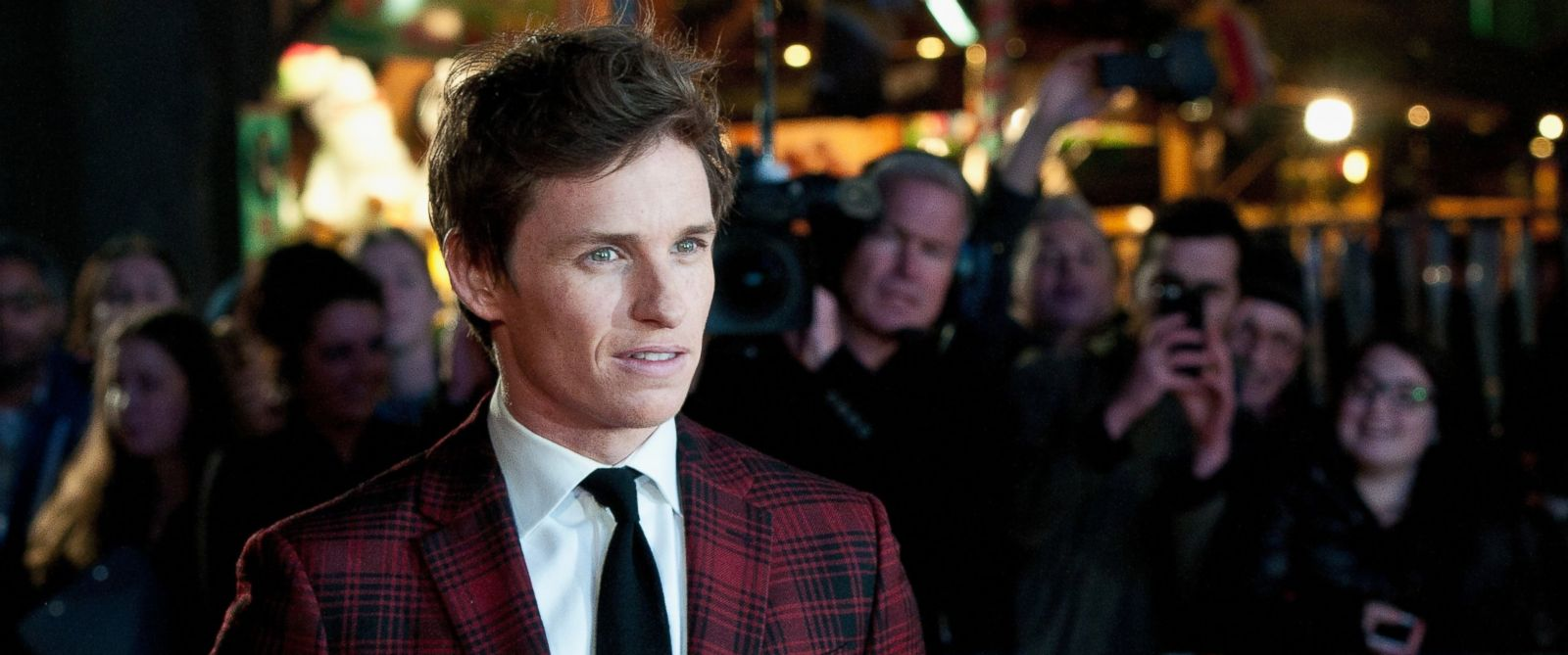 "PHOTO: Eddie Redmayne attends the UK Film Premiere of ""The Danish Girl"" on Dec. 8, 2015 in London."