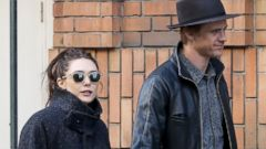 Elizabeth Olsen Steps Out with Her Boyfriend