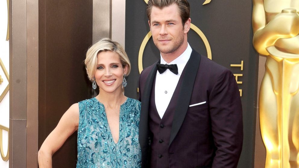 PHOTO: Elsa Pataky and Chris Hemsworth arrive at the 86th Annual Academy Awards at Hollywood & Highland Center in Hollywood, Calif., March 2, 2014.