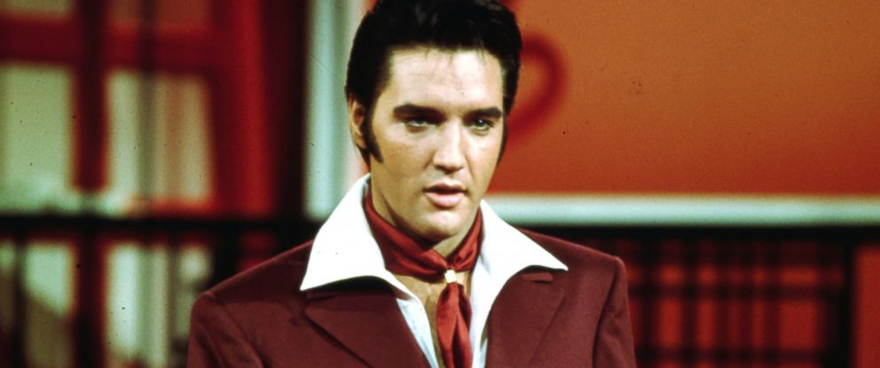 PHOTO: Elvis Presley is pictured circa 1970.