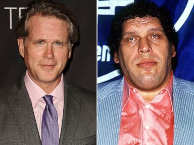 PHOTO: Cary Elwes and Andre the Giant