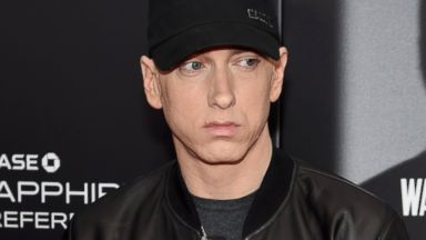 PHOTO: Rapper Eminem attends the New York premiere of Southpaw at AMC Loews Lincoln Square in New York City, July 20, 2015.