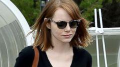 Emma Stone Arrives In Venice