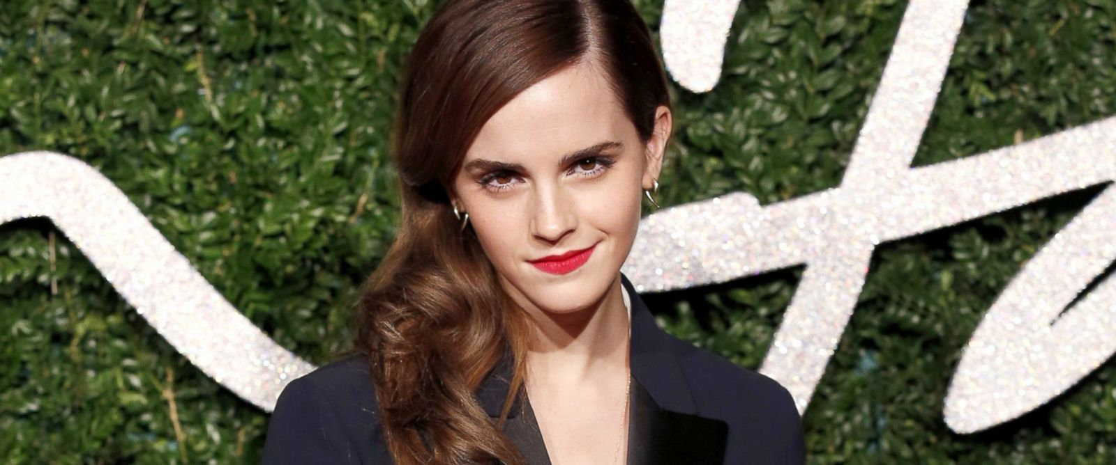 PHOTO: Emma Watson poses on the red carpet upon arrival to attend the British Fashion Awards 2014 in London, Dec. 1, 2014.