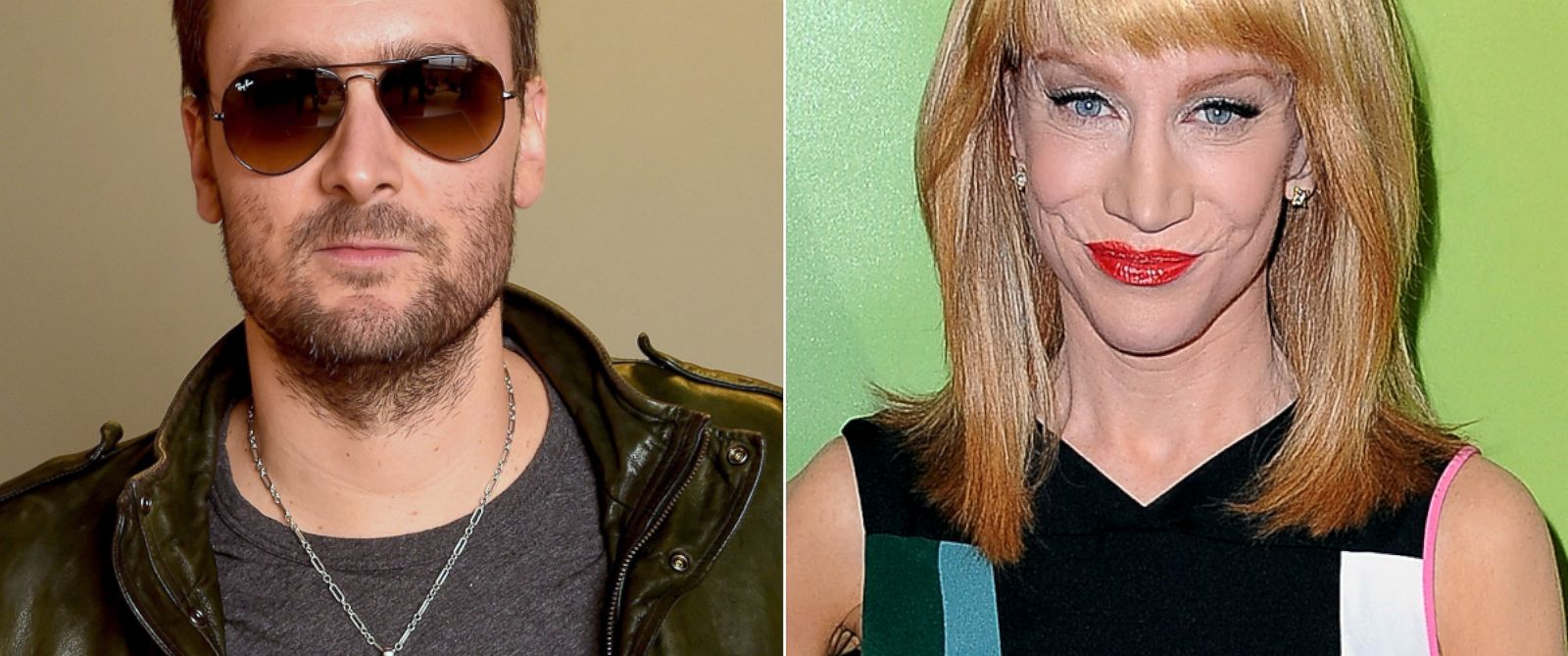 PHOTO: Eric Church poses for a portrait in Chicago, Nov. 19, 2014. | Kathy Griffin in in Pasadena, Calif., Jan. 15, 2015.