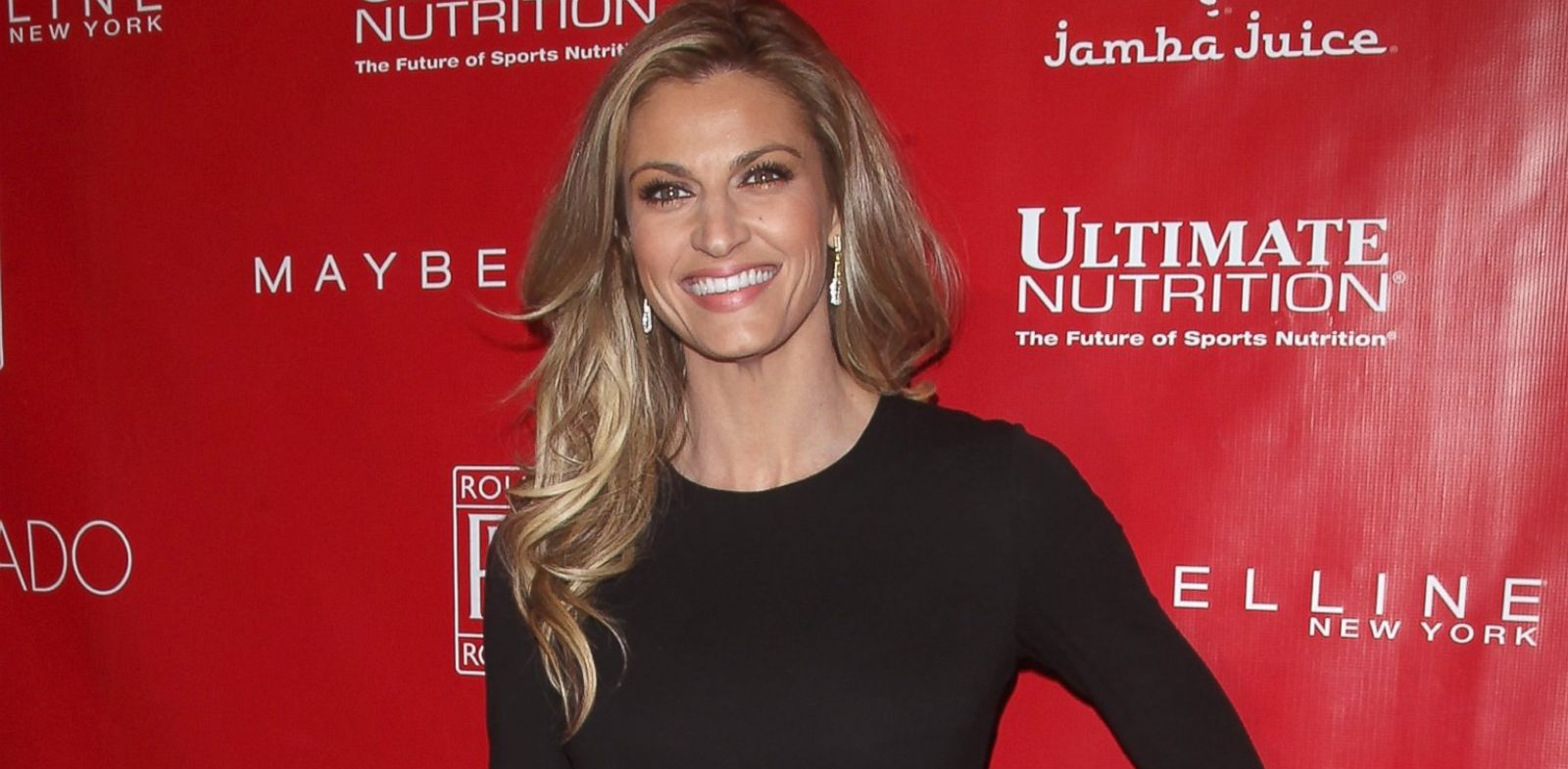 PHOTO: TV Personality Erin Andrews attends the 2014 Shape & Mens Fitness Super Bowl Party on Jan. 31, 2014.