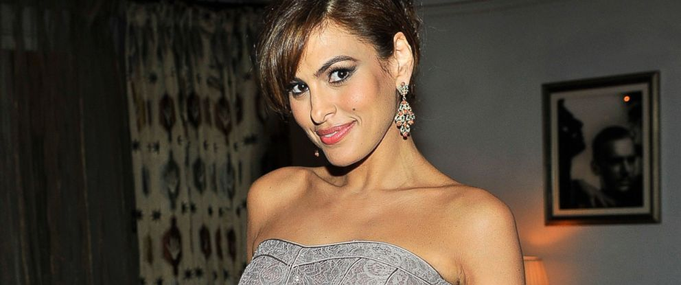PHOTO: Eva Mendes attends a launch dinner for Eva Mendes Exclusively, at Chateau Marmont, March 18, 2014, in Los Angeles.