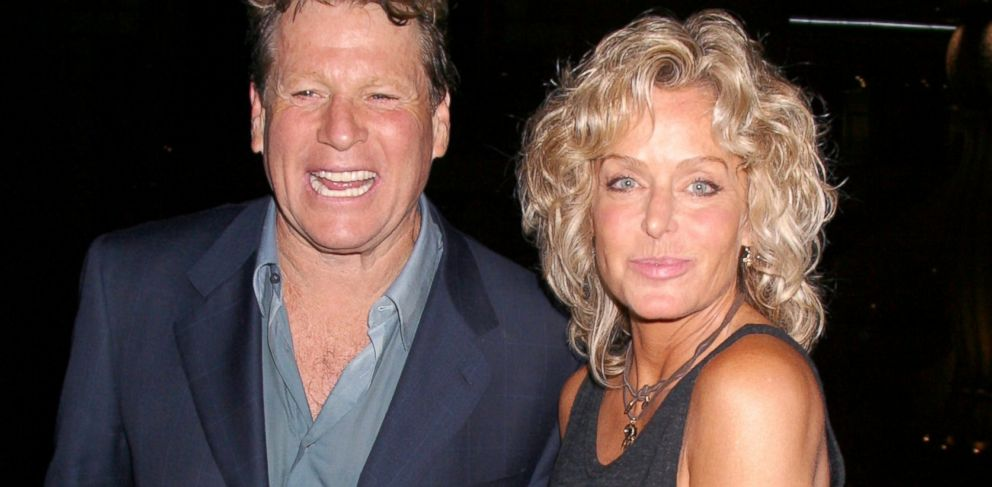 "PHOTO: Ryan ONeal and Farrah Fawcett attend "" Malibus Most Wanted"" premiere in Los Angeles, April 10, 2003."