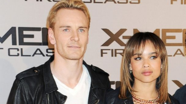 Image result for michael-fassbender Zoe Kravitz