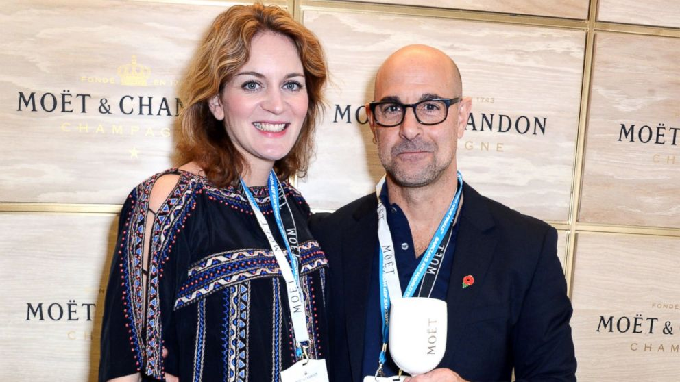 stanley tucci panicked after proposing to felicity blunt   abc news