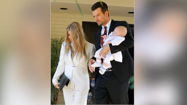 GTY fergie josh duhamel axl canvas sr 131223 16x9 608 5 Stars Celebrating First Christmas with Baby