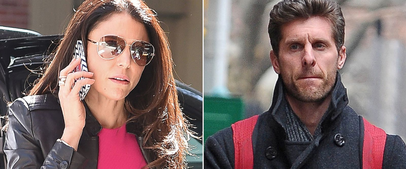PHOTO: Bethenny Frankel and Jason Hoppy are seen on separate days in New York City.