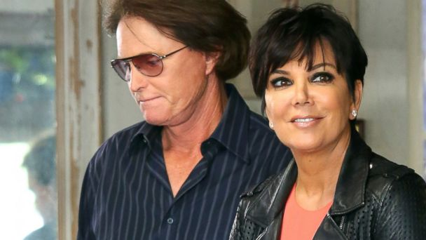 PHOTO: Bruce Jenner and Kris Jenner walk together in Los Angeles, March 21, 2013.