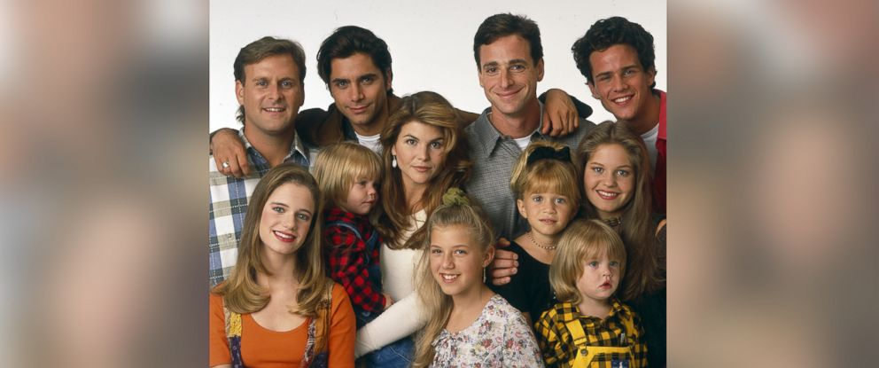 PHOTO: The cast of Full House are pictured Aug. 30, 1993.