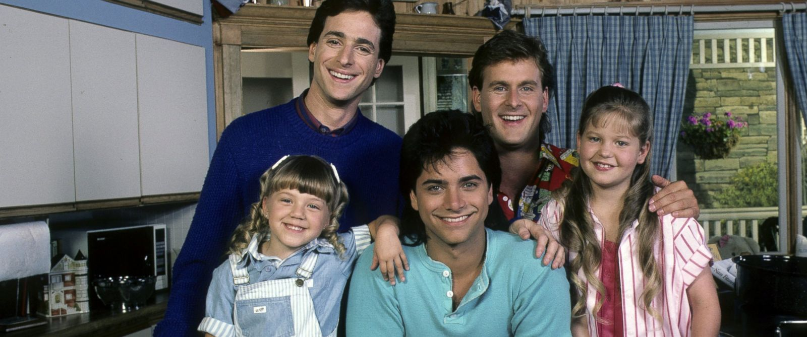 "PHOTO: The cast of ""Full House"" are seen in this July 1, 1987, file photo."