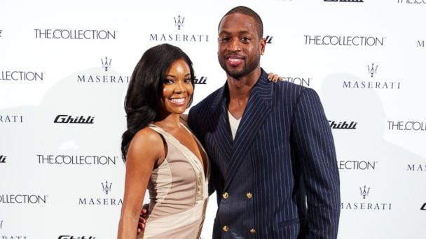 GTY gabrielle union dwayne wade 451293971 jt 131222 16x9 608 Dwayne Wade Opens Up About Son Fathered During Break from Gabrielle Union