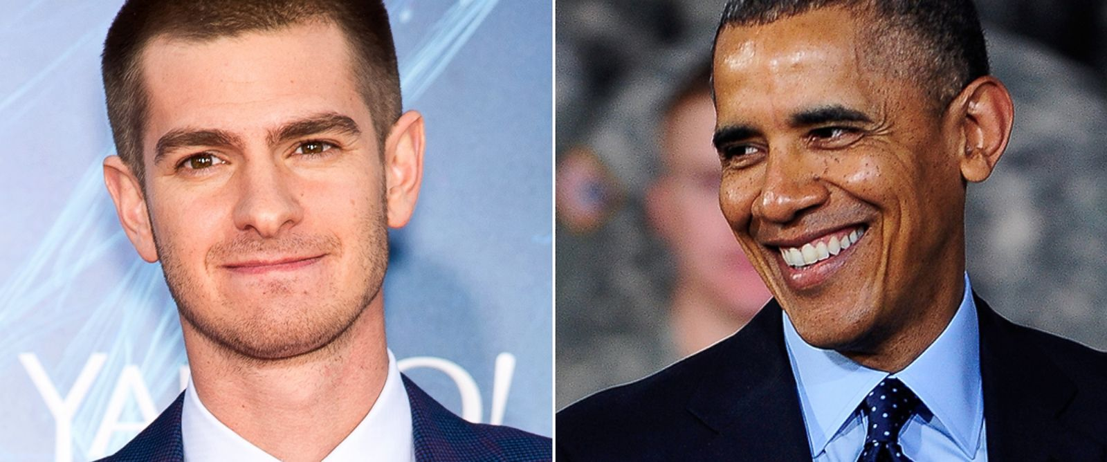 "PHOTO: Andrew Garfield attends ""The Amazing Spider-Man 2"" premiere at the Ziegfeld Theater, April 24, 2014, in New York City. President Barack Obama delivers remarks for the U.S. military personnel at Yongsan Army Garrison, April 26, 2014, in Seoul."