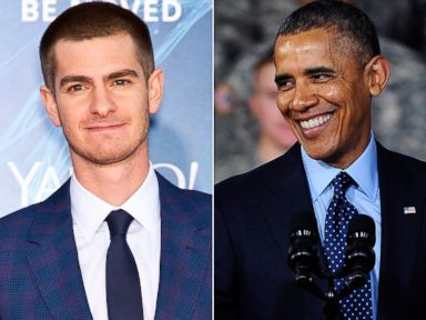 What Andrew Garfield Has in Common With Barack Obama