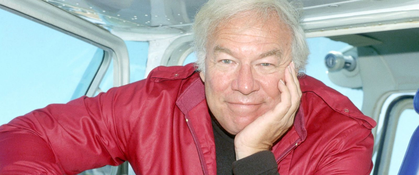 PHOTO: George Kennedy poses for a portrait at Teterboro Airport, June 30, 1983, in New Jersey.