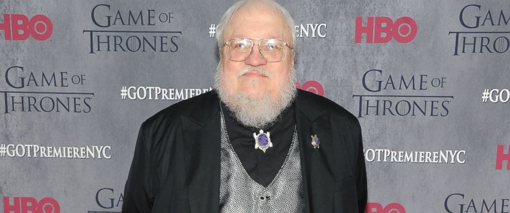 "PHOTO: George R.R. Martin attends the ""Game Of Thrones"" Season 4 New York premiere at Lincoln Center"