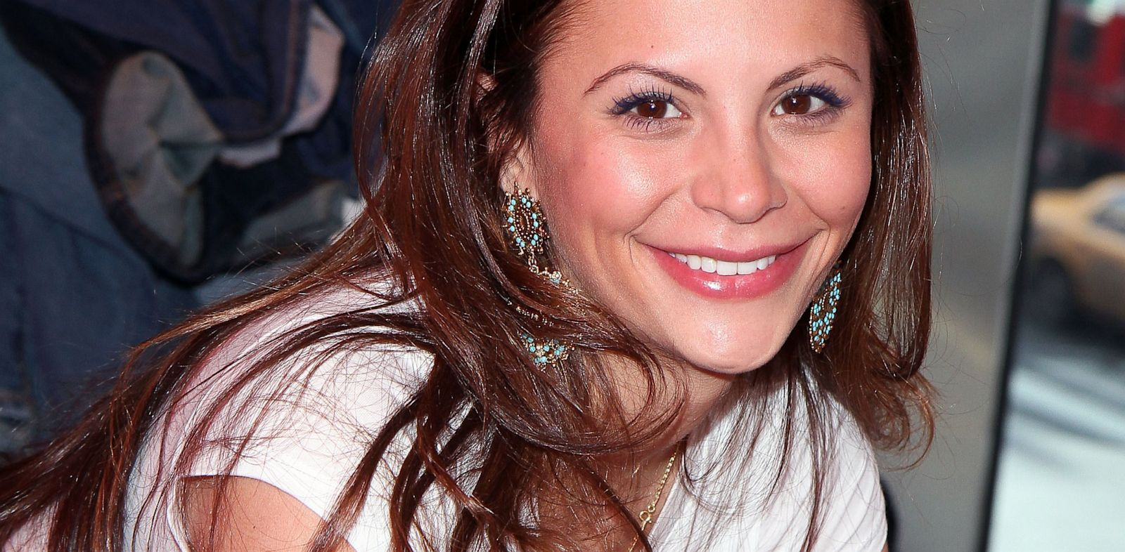 PHOTO: Gia Allemand attends DoSomething.orgs 4th Annual Teens for Jeans initiative event at Aeropostale Times Square, Jan. 30, 2011 in New York.