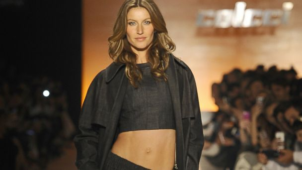 PHOTO: Gisele Bundchen walks the runway during Colcci show at Sao Paulo Fashion Week, Oct. 31, 2013, in Sao Paulo, Brazil.