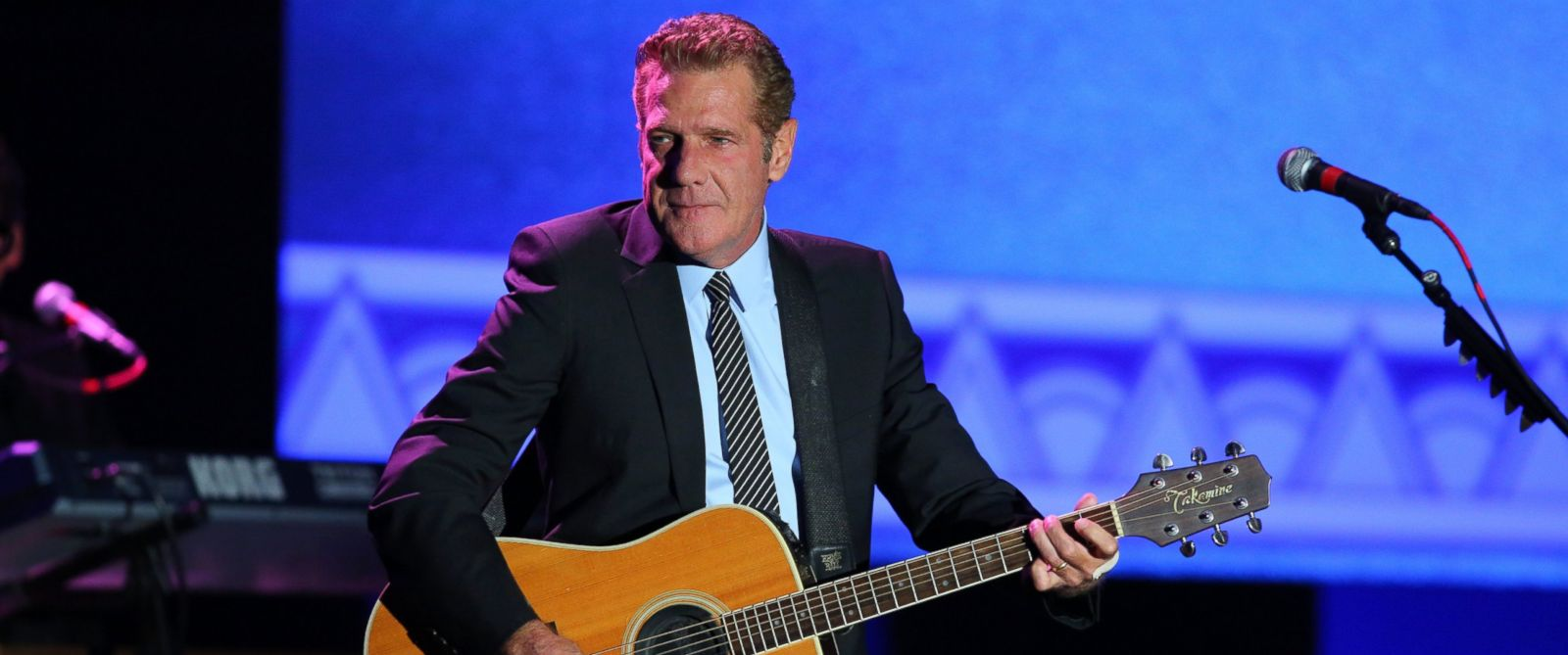 "PHOTO: Glenn Frey performs during the 2012 Starkey Hearing Foundations ""So the World May Hear Awards Gala, Aug. 4, 2012 in St. Paul, Minnesota."