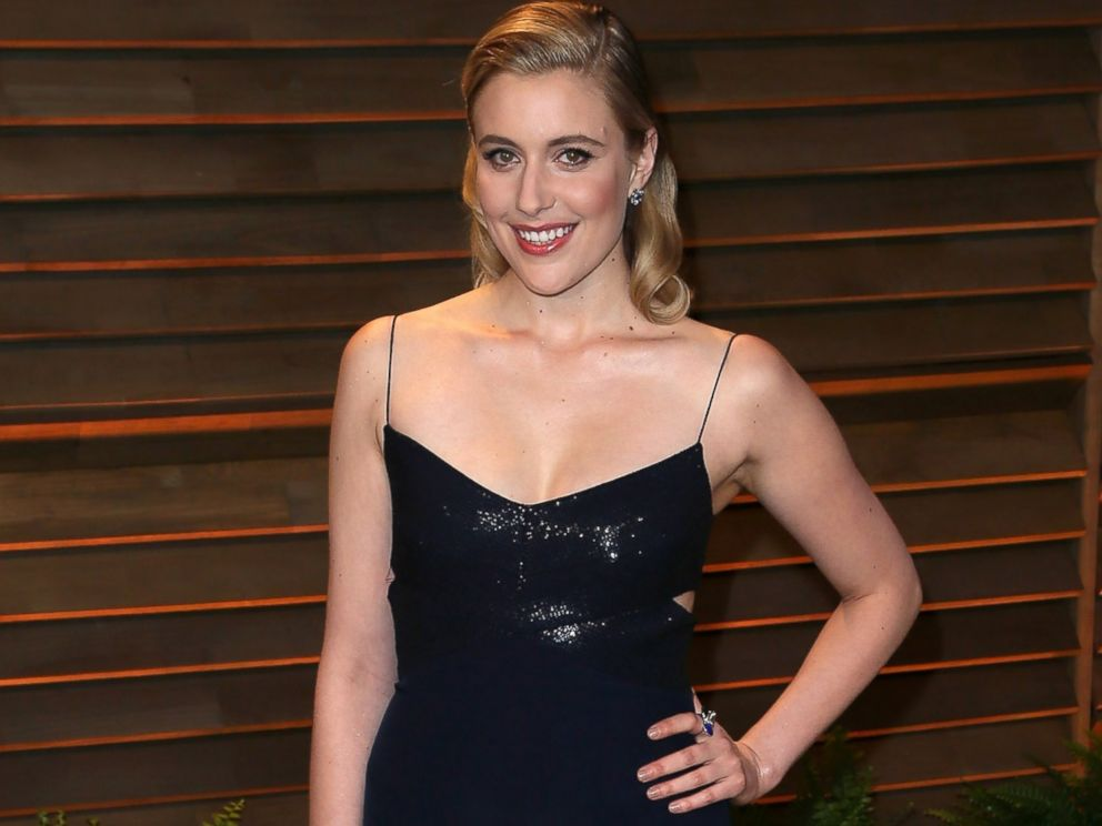 PHOTO: Greta Gerwig attends the 2014 Vanity Fair Oscar Party